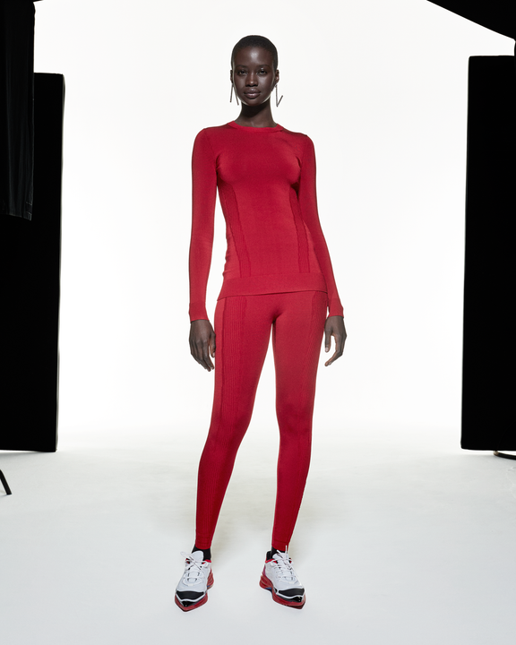 Long Sleeve Prime-layer - Red - AZ Factory