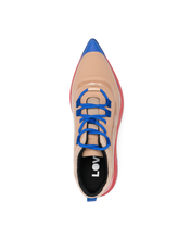 Load image into Gallery viewer, Pointy Sneaks - Beige Multicolor