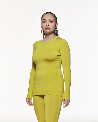 Long Sleeve Prime-layer - Yellow
