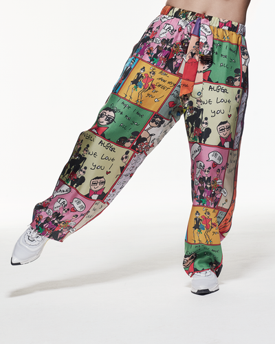 Silk Pyjama Pants - « Love From Alber »