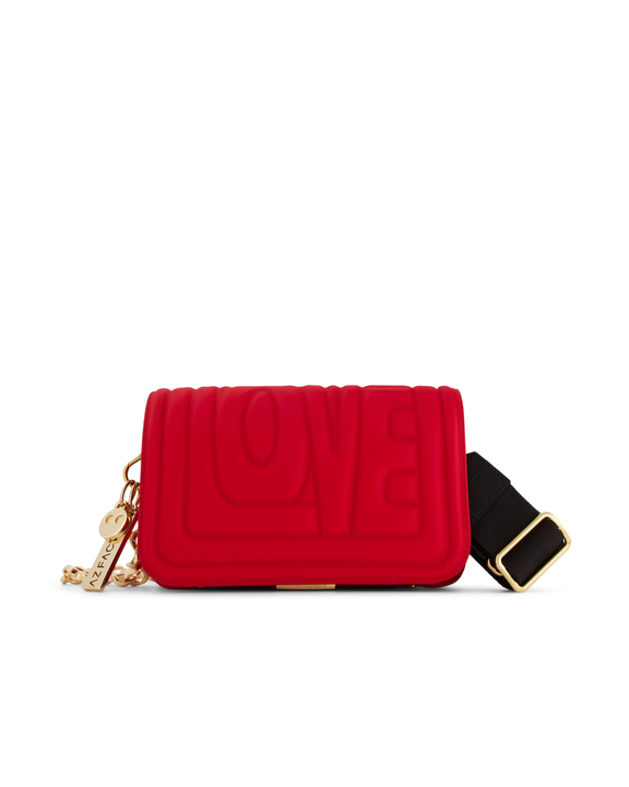 Small Hugging Bag With Love - Red - AZ Factory