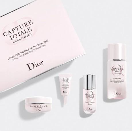 CAPTURE TOTALE  DISCOVERY SET ~ Exclusive Skincare Set: The total age-defying discovery ritual