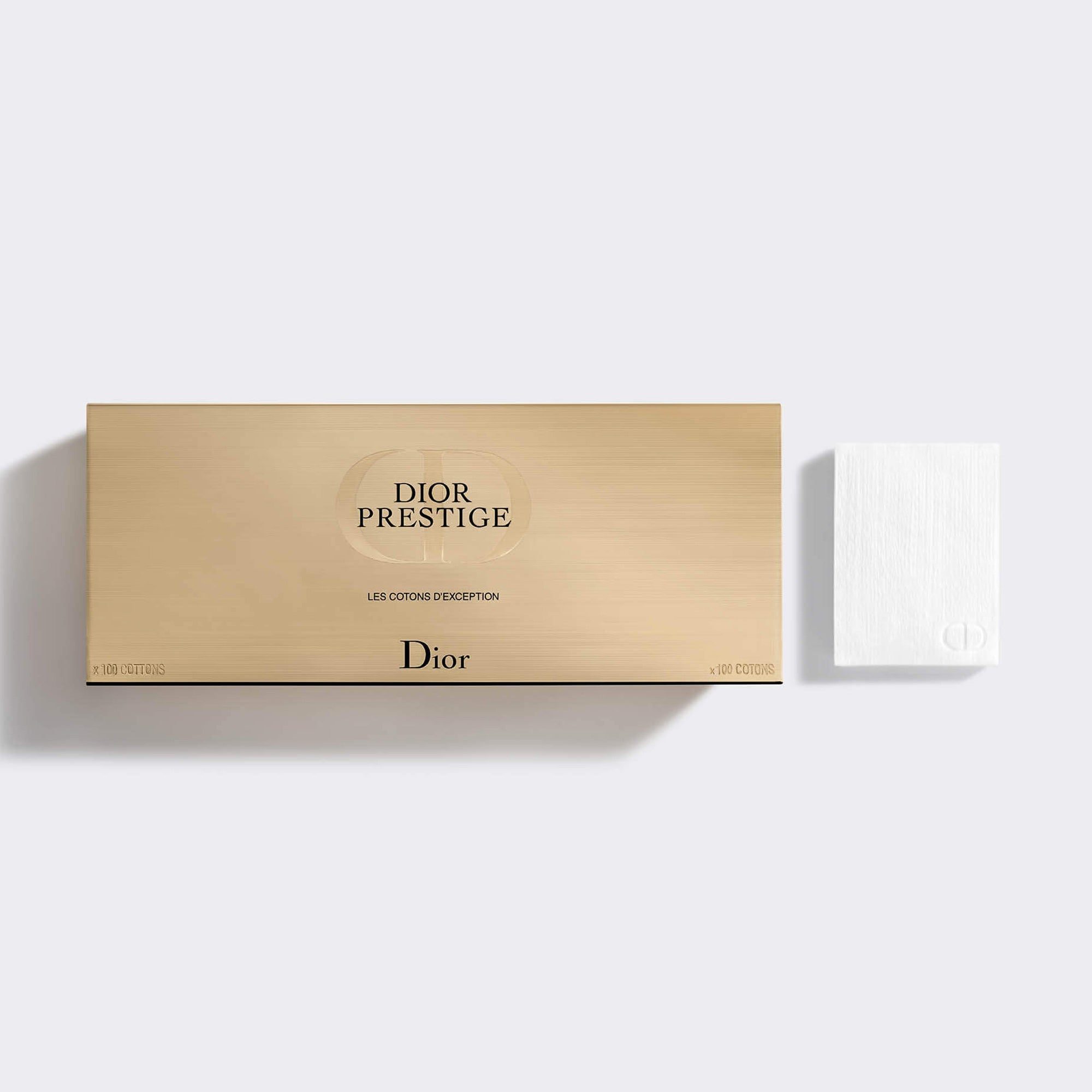 DIOR PRESTIGE ~ The Exceptional Cotton Pads - 100% Natural Cotton Fibers