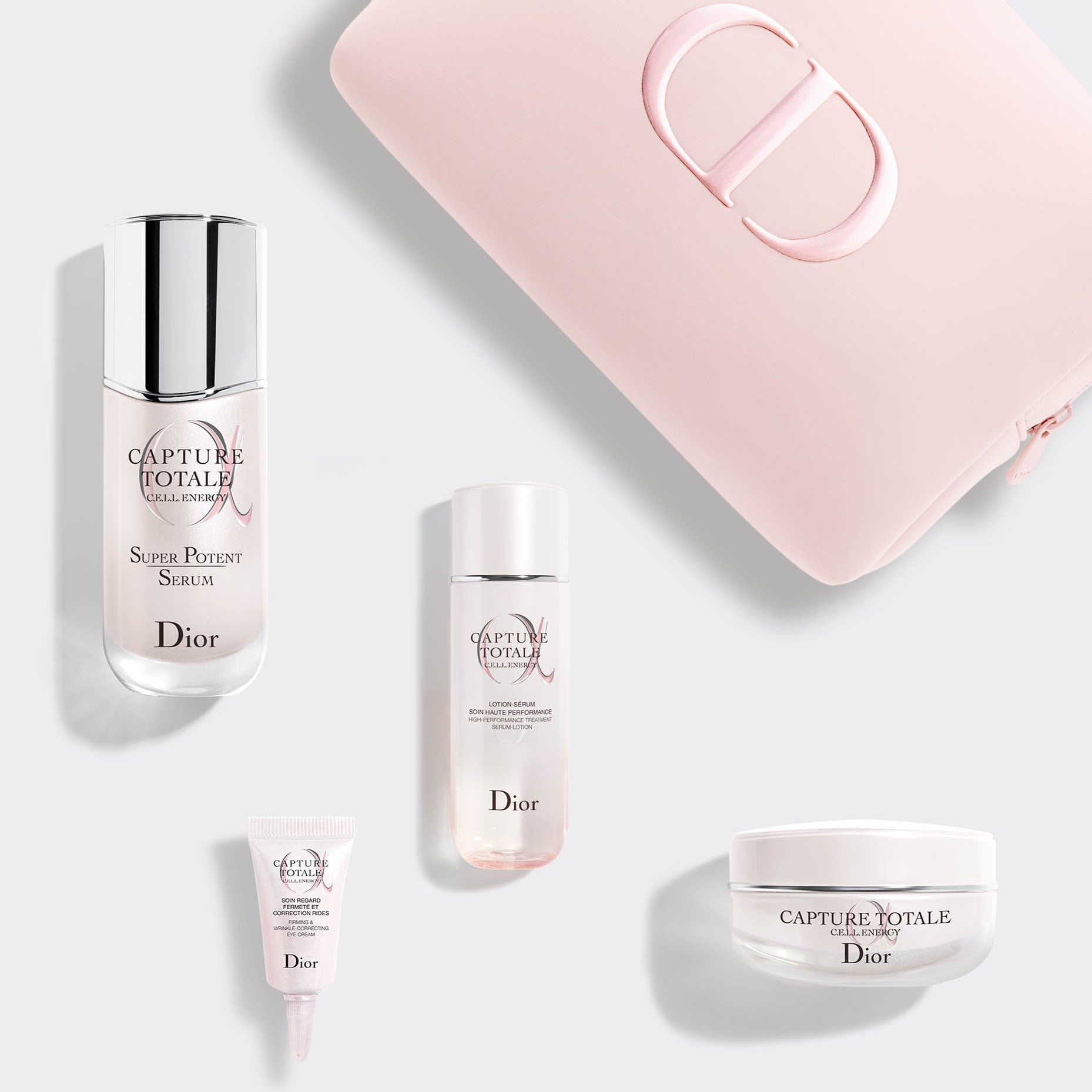 CAPTURE TOTALE OFFER ~ Exclusive skincare set: the total age-defying intense ritual