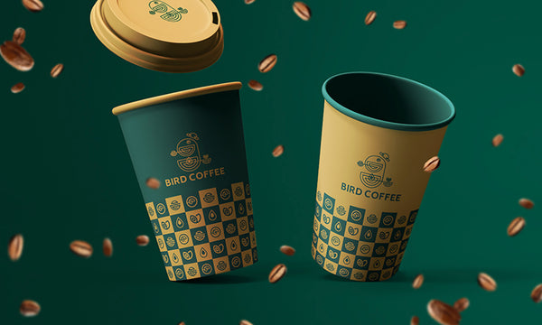 20 Attractive Paper Cup Designs for a Coffee Shops