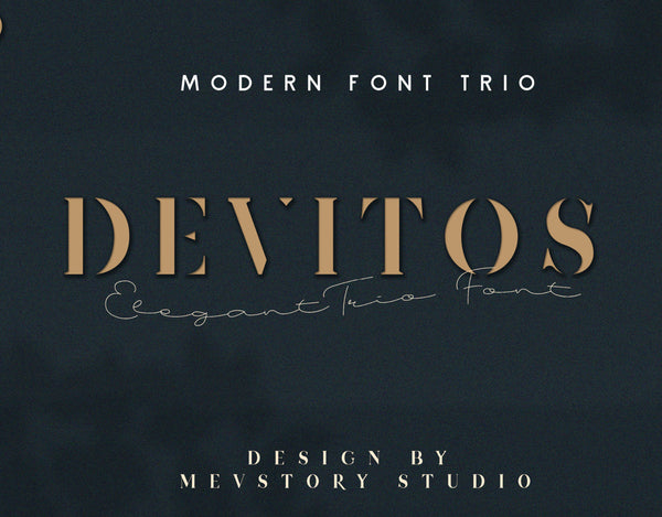 Devitos Typeface (Free Version)