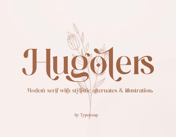 Hugolers Typeface (Free Version)