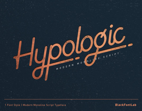 Hypologic Typeface (Free Version)