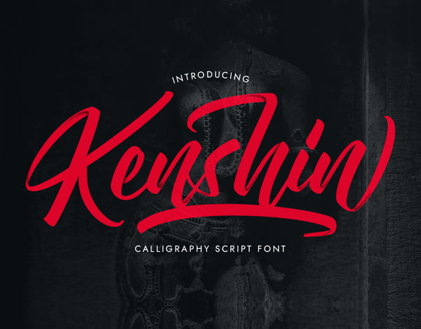 Kenshin Typeface (Free Version)