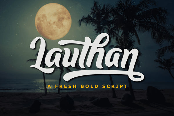 Lauthan Typeface (Free Version)