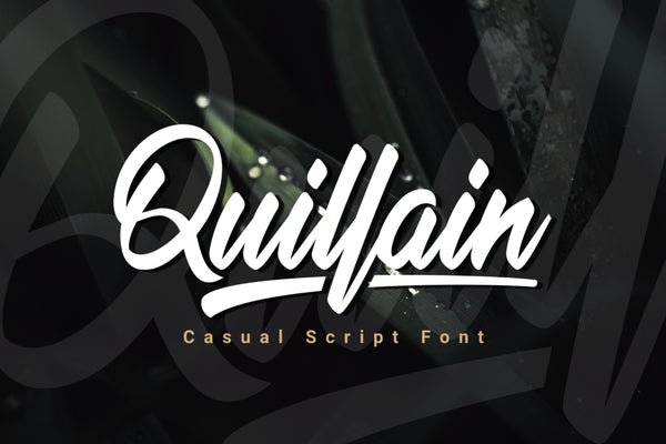 Quillain Typeface (Free Version)