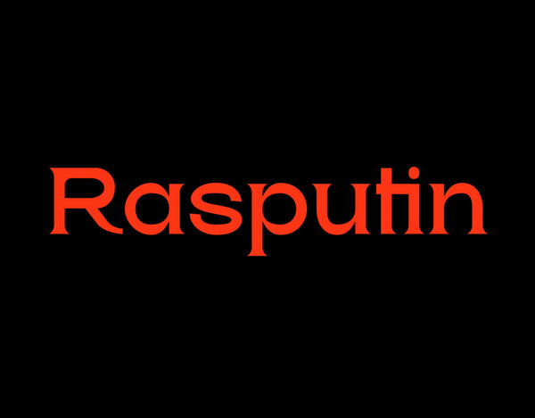 Rasputin Typeface (Free Version)