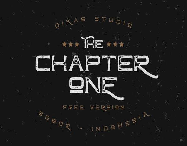 Chapter One Typeface (Free Version)