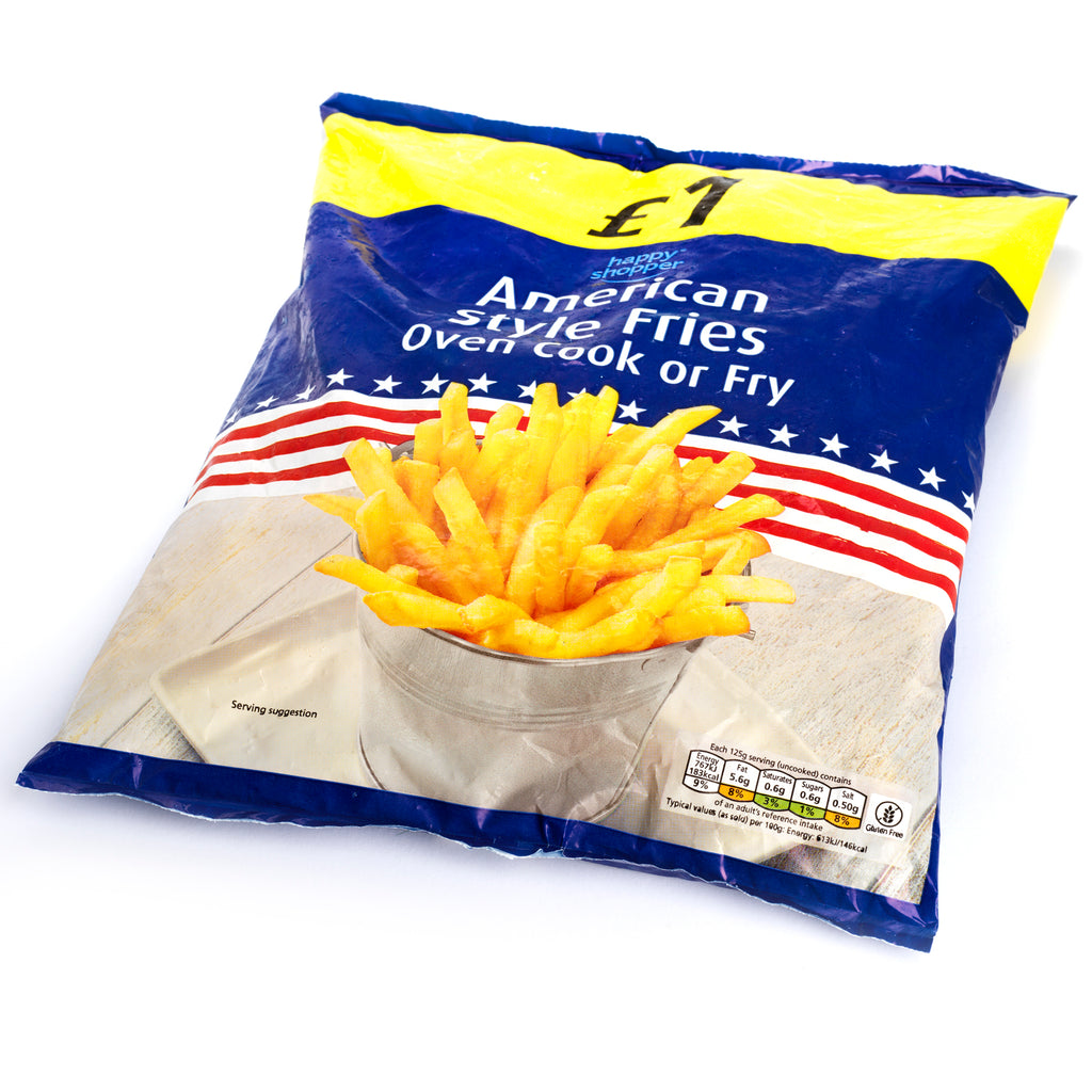 American style french fries