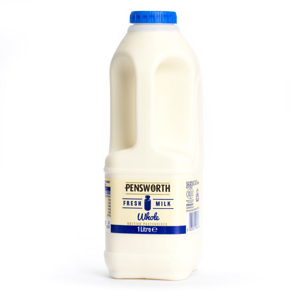 Whole milk 1ltr