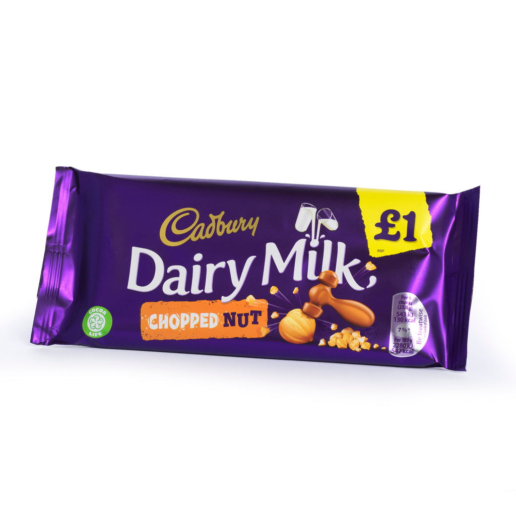 Cadbury chopped nut bar