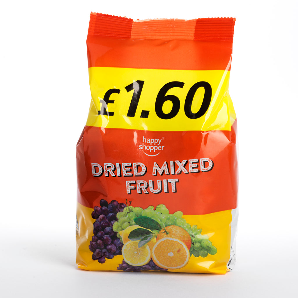 Dried mixed fruit 375g