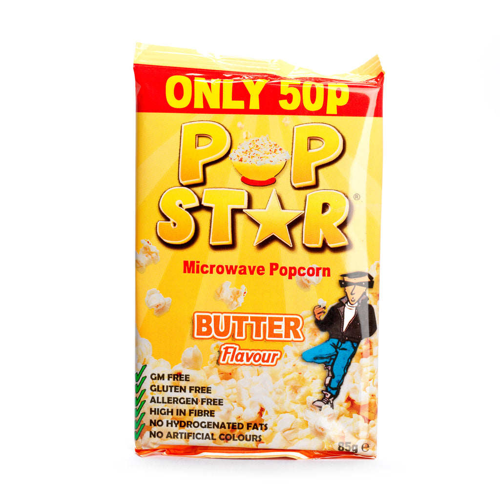 Popcorn butter flavour
