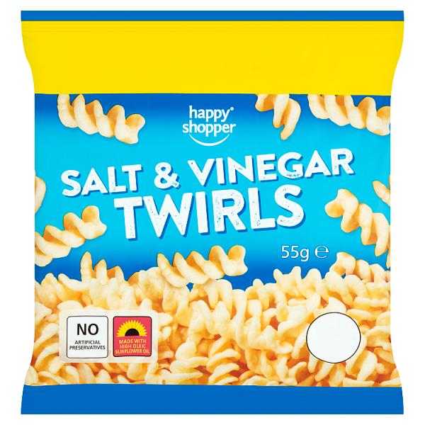 Salt & vinegar twirls