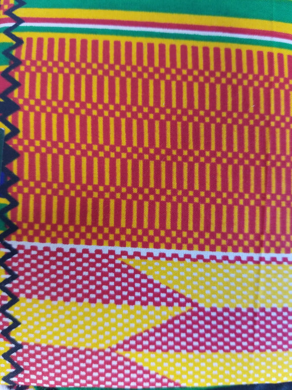Pink Kente Original Set
