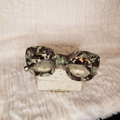Light Camouflage Print Fashion Frames