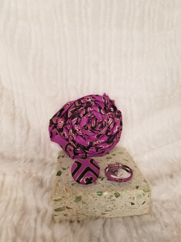 African Violet Playpin Set