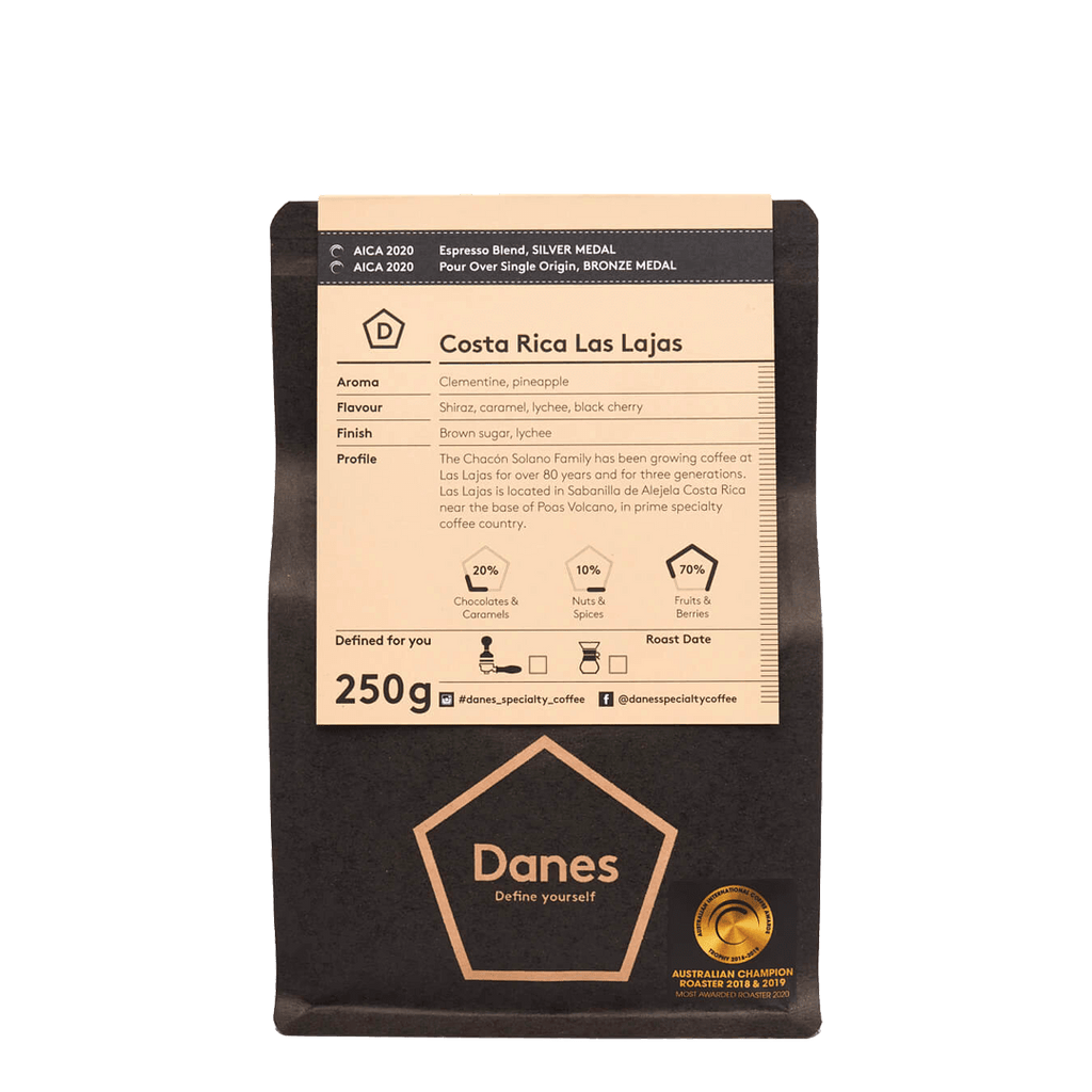 Costa Rica Las Lajas - Danes Specialty Coffee