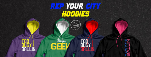 Rep Your City Hoodies