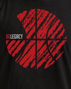 BG Legacy Mens Black T-Shirt
