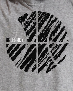 BG Legacy Mens Sports Grey T-Shirt