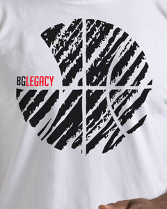 BG Legacy Mens White T-Shirt