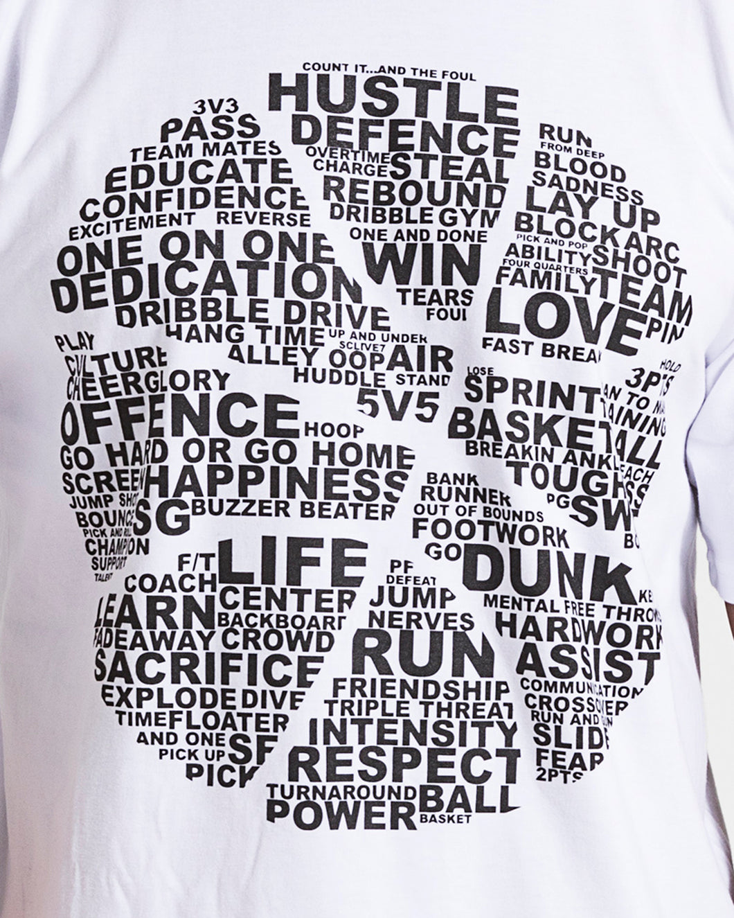 Basketball Is... Mens White T-Shirt