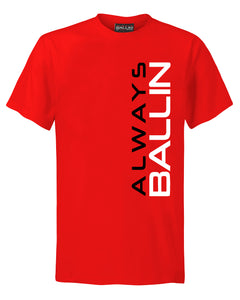 Vertical AB '88 Mens Red T-Shirt