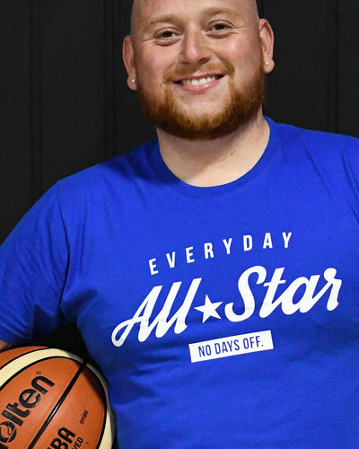 Everyday All-Star Mens Royal Blue T-Shirt