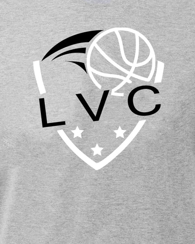 LVC Logo Mens Sports Grey T-Shirt