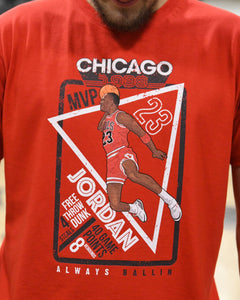 Jordan '88 Mens Red T-Shirt
