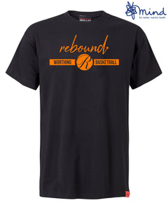 Rebound x Worthing Thunder Black T-Shirt