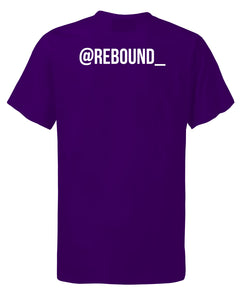 Rebound x Loughborough Riders Purple T-Shirt