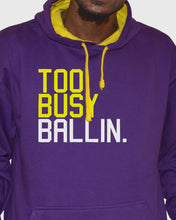 Too Busy Ballin Lakers Pullover Hoodie