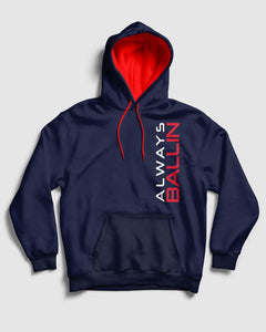 Vertical AB Clippers Pullover Hoodie