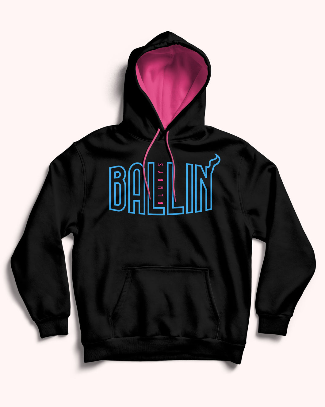 Ballin Always Finals Heat Pullover Hoodie