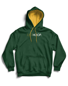 Just Hoop Forest Green Pullover Hoodie