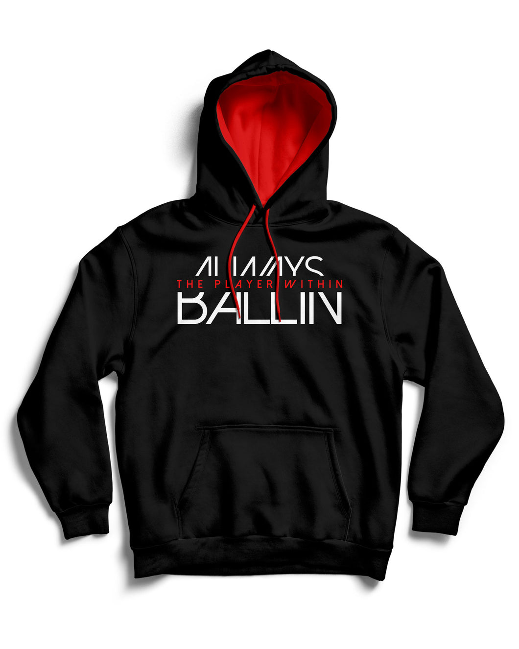 The Player Within Black Pullover Hoodie