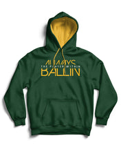 The Player Within Forest Green Pullover Hoodie