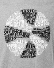Basketball Is... Mens Sports Grey T-Shirt