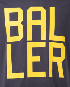 BALLER Mens Dark Grey T-Shirt
