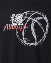 Always 365 Mens Black T-Shirt