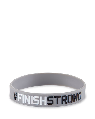 #FinishStrong Unisex Wristband