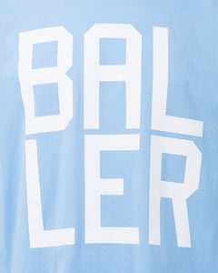 BALLER Mens Sky Blue T-Shirt
