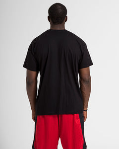 Vertical AB Mens Black T-Shirt